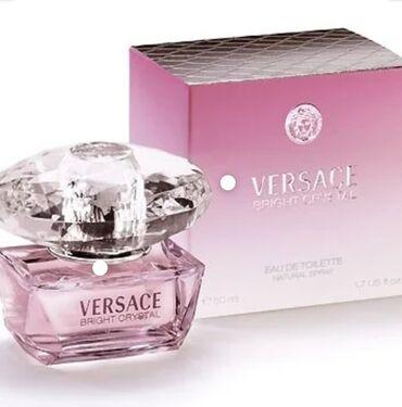 Парфюмерия в Кыргызстан: Аромат Versace Bright Crystal притягивает, чарует своей изысканностью