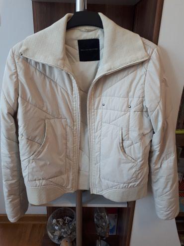 Sergio Tacchini original jakna, ženska, bež boje, nošena ali kao - Belgrade
