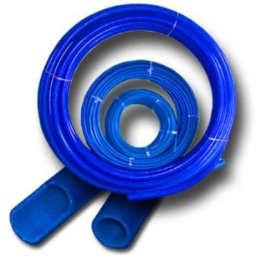 Пэ труба синяя (pe 100) давление sdr 17, 10 атмосфертрубы напорные из