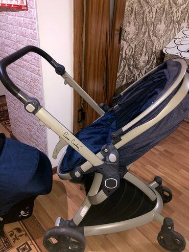 удобные коляски для новорожденных в Кыргызстан: Оплата наличными!!!  Продаётся детская трансформер коляска pierre card