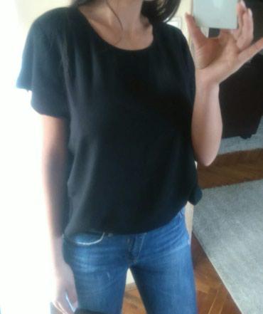 Boho-bluza - Srbija: H&M boho bluza Crna elegantna bluza u boho lezernijem stilu