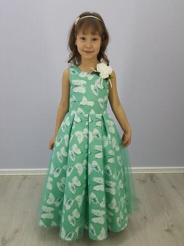 нарядные платья на свадьбу в Кыргызстан: Нарядное платье для девочки Артикул: ВарвараРазмеры: 110, 116, 122