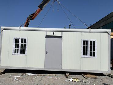 konteyner ofis - Azərbaycan: Sandviç panel Lüks ofis konteyneri satışı:Uzunluq: 7mEn: 3mHündürlük