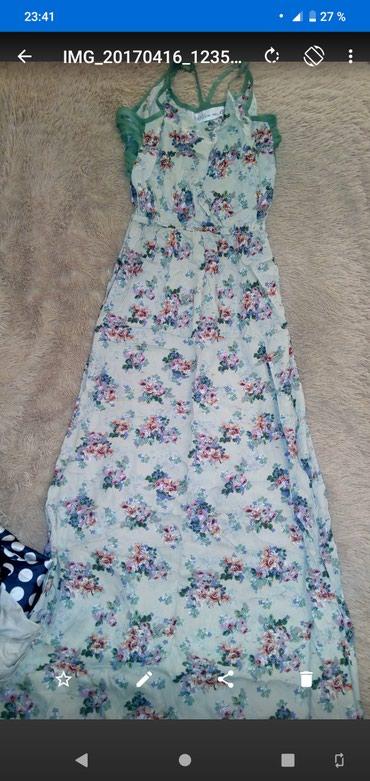 турецкое летнее платье в Кыргызстан: Летнее платьетурецкое хб. размер м. цена 300 сом