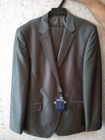 Продается мужской костюм.производство Турция. НОВЫЙ. размер 52 в Кок-Ой
