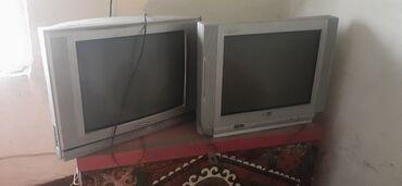 Электроника - Студенческое: Продаю 2 телевизора .В рабочем состоянии 1ая фирма LG2ая фирма
