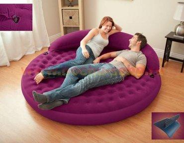 Надувной диван-матрас intex ultra daybed lounge в Бишкек