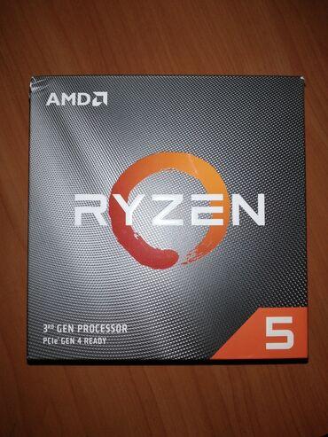 процессоры amd в Кыргызстан: Процессор ryzen 5 3600, материнская плата msi b450 a-pro, кулер