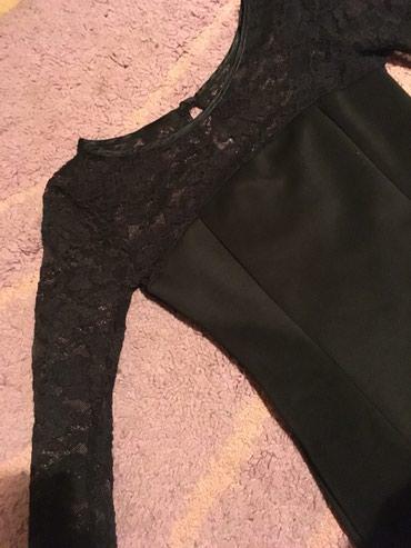 Crna haljinica sa cipkom - Zajecar