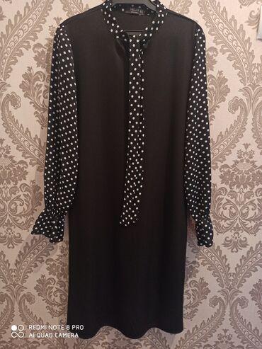 вязаное платье свободного кроя в Кыргызстан: Платье в отличном состоянии, новая Размер с, м