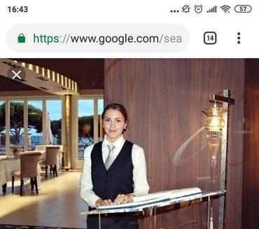 В кафе при гостинице требуется бармен, в Бишкек