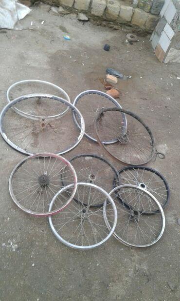 16 dyumlu velosiped - Azərbaycan: Veısabet zapçastdarin hamsina 30 manat tek tekde satilir