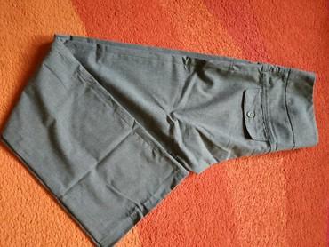Poslovne pantalone - Srbija: Sive poslovne pantalone ravnog kroja bez mana. Veličina 36
