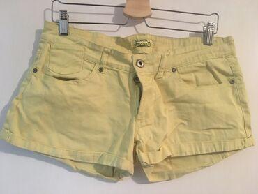 Pantalone uske - Srbija: Žuti Terranova šorc.  Za dodatne slike i mere slobodno pišite. Ne prih