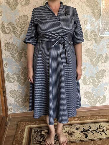 zhenskoe plate 52 razmer в Кыргызстан: Продаю турецкие платья оба ! Размер 52-54! Пару раз одевали!