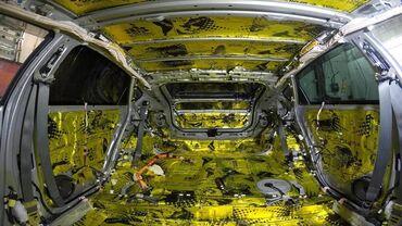 перетяжка потолка авто цена in Кыргызстан | ТЮНИНГ: Профессиональная шумоизоляция автомобиля, по самым выгодным ценам.Цена