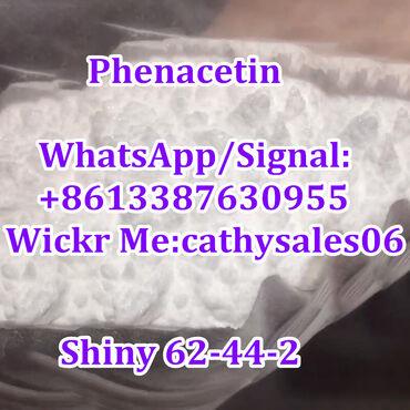 Us European Phenacetin Fenacetina Raw Shiny Powder 62-44-2  Product De