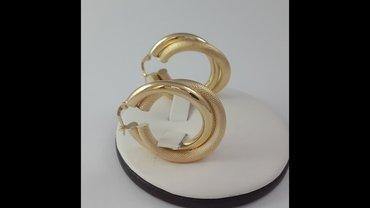 Эксклюзивные серьги из жёлтого золота 585 проба. эффектные в Бишкек