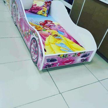 Детский кроват, комодтор сатылат.Комод, книжный полка, писменный стол