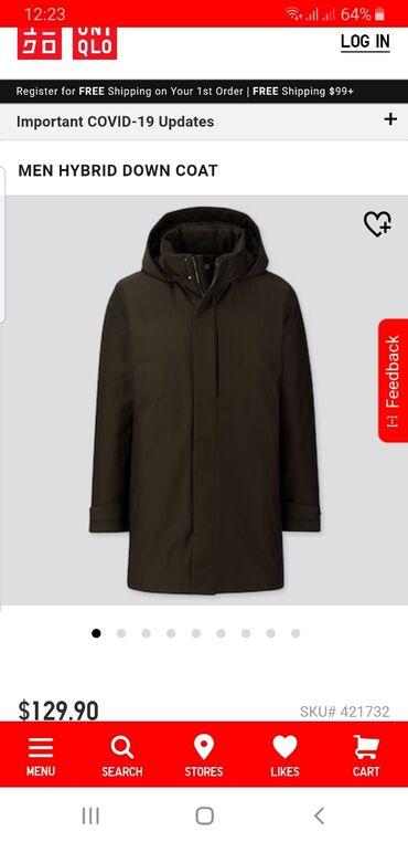 куртки uniqlo в Кыргызстан: Продаётся стильная, лёгкая, теплая куртка от бренда Uniqlo. Заказывали