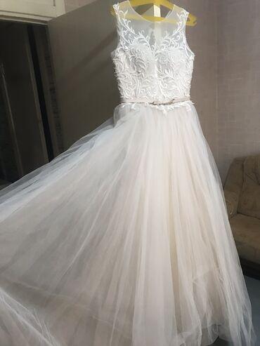 Личные вещи - Кировское: Продаю новое свадебное платье. Привезли с России. Не подошёл размер
