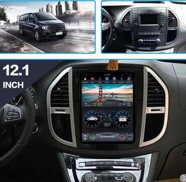 mercedes monitor - Azərbaycan: Mercedes Benz Vito Tesla Monitor Android monitorlar 150azn - 1000 azn