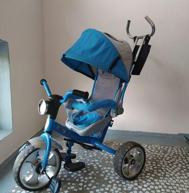 Детский мир - Аламедин (ГЭС-2): Продаю велосипед срочно.состояние хорошое,колеса мощные остальное по