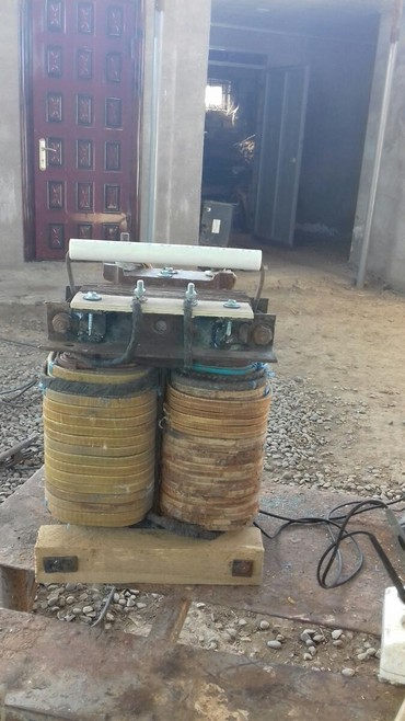 Biləsuvar şəhərində Svarka qaynaq aparatları yenidir.yanmaya davamlı xüsusi materialla