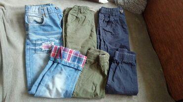 Farmerki pantalone - Srbija: Farmerke i pantalone za decaka 128 7,8 god. Farmerke i plave pantalone