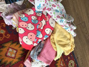 Находки, отдам даром - Кыргызстан: Отдам даром большой пакет детских вещей от 1 месяца до 1 года