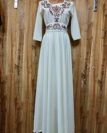Национальное платье, материал льен, в Бишкек