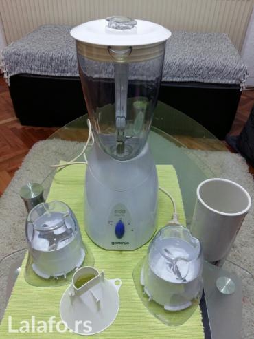 Kuhinjski aparati   Smederevska Palanka: Blender GORENJE dobijen na poklon. Samo je jednom proban kako radi
