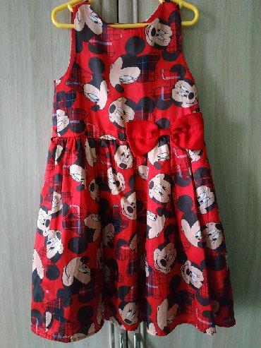Детские платья в Кыргызстан: Продаю платье оригинал Disney в отличном состоянии для девочки 5-8