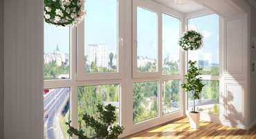Пластиковые окна двери любой конфигурации для дома и офиса по САМОЙ ДО в Бишкек