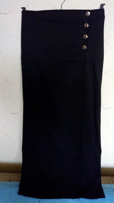 Nova kvalitetna suknja na preklop..obim struka..76cm..duzina 96cm.. - Kraljevo