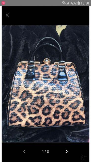 Шикарная женская сумка из лакированной кожи высшего качества, прочная