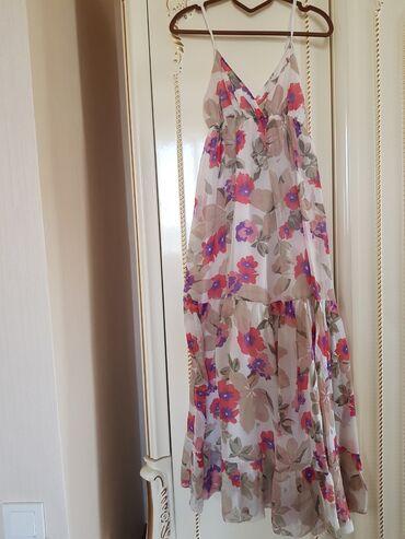 Женская одежда - Джал: Красивый шёлковый сарафан пр-во Италия фирма King Kong р S