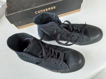 Crne original Converse patikeodlićno očuvane i malo nošene