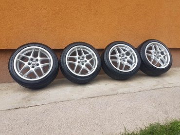 Alu felne 5x100 R16 BBS Germany polo, golf 4, skoda, a3 - Sopot