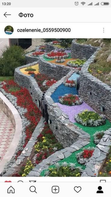 Декоративные камни в Бишкек