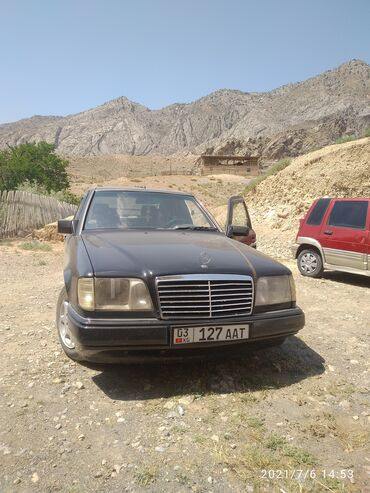 Транспорт - Пульгон: Mercedes-Benz W124 2.2 л. 1991