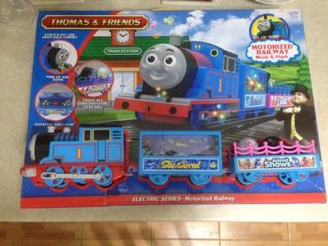Игрушки в Талас: Thomas & Friends Железная дорога Томас и его друзья Моторизированн