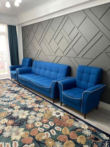Долгосрочная аренда квартир - 3 комнаты - Бишкек: 3 комнаты, 140 кв. м С мебелью