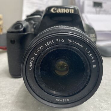 купить-canon-600d в Кыргызстан: Продам Canon 600DОбъектив Canon 18-55,аппарат в отличном состоянии, в