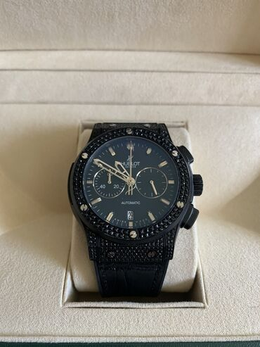 Личные вещи - Шопоков: Продаю наручные часы хронограф Hublot женские Часы в хорошем состоянии