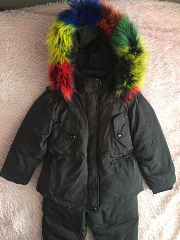 Зимний костюм на рост 90 см