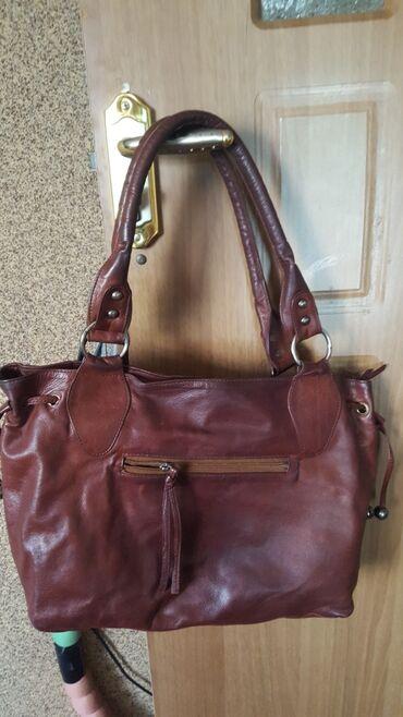 Продаю сумку б/у, мягкая натуральная кожа, в отличном состоянии