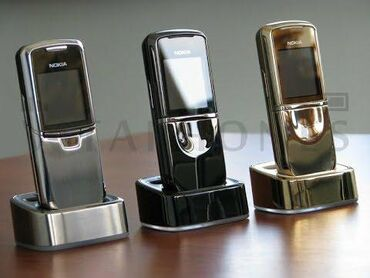 nokia-6 в Азербайджан: Nokia 8800 aliram. Xarab islemeyen. 8800 klasik, sirocco, art