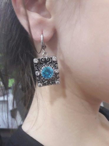 Продаю серебряные сережки. в Бишкек