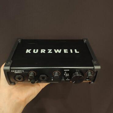 aro 24 2 1 td - Azərbaycan: Səs kartı Kurzweil Unite 2Girişlər: 2 combo XLR-1/4″ microphone/line
